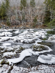 Icy Waters  in upstate PA