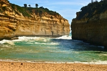 If I were a pirate this be where I bury the treasure Loch Ard Gorge Australia