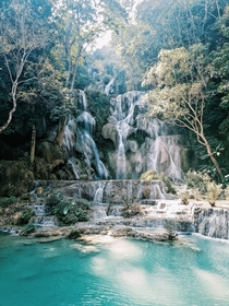 If Rivendell existed Kuang Si Falls Laos