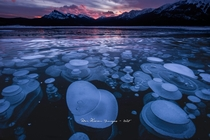 If we are posting bubble photos  Abraham LakeAB