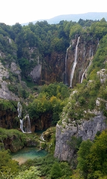 Ignored TLCs advice Plitvice Lakes National Park Croatia