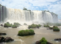 Iguaz Falls between Argentina and Brazil A photograph will never do this place justice