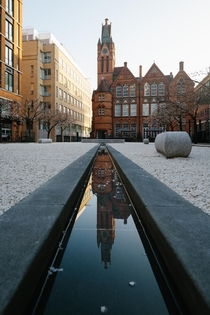 IKON Gallery formerly Oozells Street Board School Birmingham UK - John Henry Chamberlain