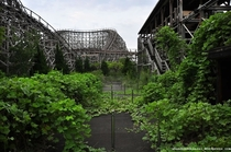Illegal Tour Abandoned Amusement Park Nara Dreamland