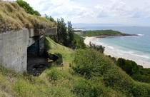 Illowra Battery Hill  Port Kembla Australia Once held two -inch guns repurposed from WWI era cruisers