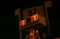 Illuminated Gas Pumps - Monteverde FL -