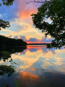 Im a park ranger and Nimisilla park Ohio is one of my favorite spots to patrol at sunset-