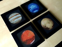 Im cross-stitching the solar system and just finished Mars