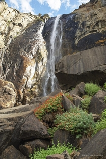 Im just aching to get back to Yosemite Heres a different view of Bridalveil Falls that I captured last year
