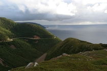 Im no photographer but I wanted to show off the beautiful island I live on Skyline Trail in the Cape Breton National Highlands Nova Scotia