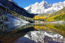Im no scientist but I took this on my phone last week at the Maroon Bells