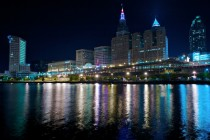 Im on the Cuyahoga River in Cleveland every night This is what I see