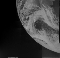 Image of Earth taken during Junos flyby