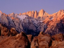 Impressive photo of Mount Whitney
