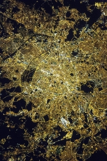 In  astronauts aboard the International Space Station took this picture of Paris at near midnight Credit Earth Science and Remote Sensing Unit NASA Johnson Space Center