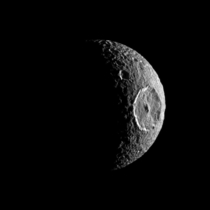 In celebration of May the Fourth Saturns moon Mimas aka The Death Star Moon