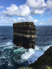 In honor of St Patricks Day heres a photo of Downpatrick Head in Co Mayo Ireland