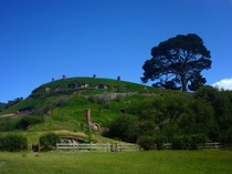In light of the new film I give you Hobbiton only a few weeks before filming started Matamata New Zealand