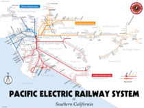 In  Los Angeles had a light rail system twice the size of the New York City Subway By  all of this would be abandoned I drew a map of the system at its height xOC