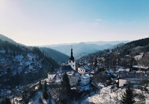 In support of the other recent Slovakia post Such a beautiful country in winter This is pania Dolina