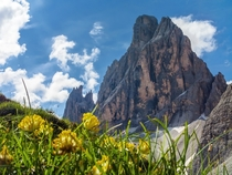 In the Dolomites of Northern Italy