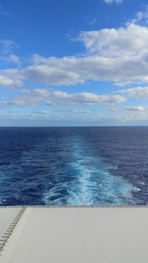 In the gulf of Mexico between Florida and Cozumel
