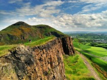 In the heart of the city we find nature Holyrood Park Edinburgh