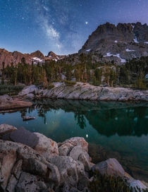 In the heart of the John Muir Wilderness California