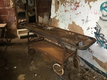 In the Morgue at Forest Haven Asylum