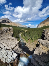 In the Rocky Mountains - Near Cadomin Alberta Canada