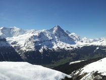 In the shadow of Eiger - Grindelwald Switzerland May