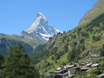 In the shadow of the Mountain - Zermatt Switzerland