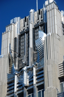 In the theme of Art Deco my favorite Detail of the Niagara-Mohawk Building Syracuse NY United States MIC