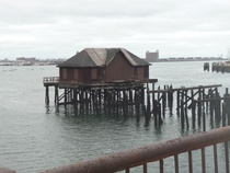 Inaccessible House In Boston Harbor