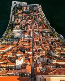 Inception theme on this picture of Zadar Croatia