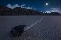 Inch by Inch by Victor Carreiro The famous sailing stones of Death Valley This particular rock was my favorite