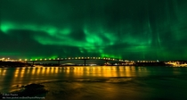 Incredible Aurora-filled sky over Saltstraumen Norway  by Gaute Frystein - crossposted from rNorwayPics