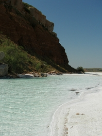 Incredible Beach on the Cimarron River in Oklahoma