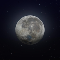 Incredible Composite Image of The Moon