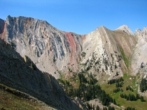 Incredible geology of the Bridger Mountains Montana