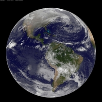 Incredible new image of Earth taken on