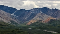 Incredible Polychrome Mountains in Denali National Park Alaska  Instagram onbphoto