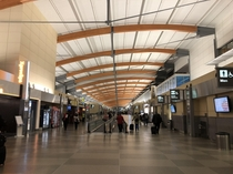 Incredible structure at RaleighDurham International Airport
