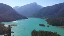 Incredible Turquoise Water of Diablo Lake North Cascades National Park