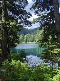 Independence Lake - Mt Baker-Snoqualmie National Forest Washington