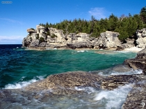 Indian Head Cove Bruce Peninsula National Park Canada