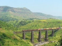 Indian Railway Bridge Arzan Kotval India