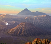 Indonesia has amazing views Mount Bromo