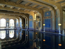 Indoor Pool at Hearsts Castle San Simeon California Julia Morgan Architect
