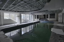 Indoor Underground Pool Inside a Massive Abandoned Mansion in Toronto Ontario